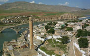 The ancient river crossing of Hasankeyf, Batman region, Eastern Turkey - click here for further details
