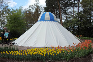 The recreated Ottoman Turkish tent. - image courtesy of Marilyn Holmested