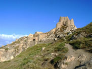 The ruins of Van Castle, Eastern Turkey - click here for further information on Van